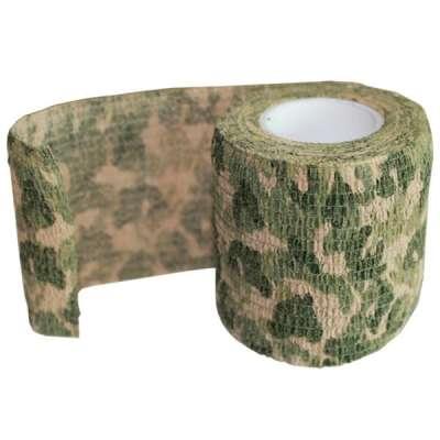 Камуфляжная лента - зелень